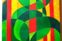 o.T. – Acryl auf Leinwand, 2001