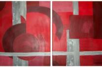 o.T. – Acryl auf Leinwand, 2003