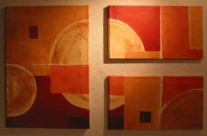 o.T. – Acryl auf Leinwand, 2004