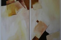 o.T. – Acryl auf Leinwand, 2008