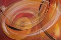 o.T., Acryl auf Leinwand, 100x70cm, 2014