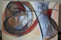 o.T. – Acryl auf Leinwand, 2009